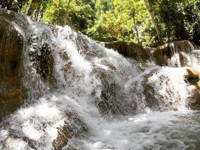 Ocho Rios Jamaica hiking dunns river falls
