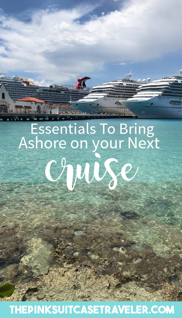 9 things to take in port cruising