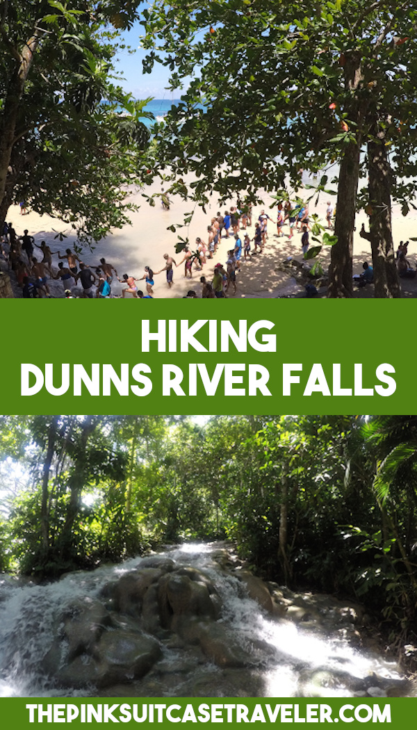 Hiking Dunns River Falls